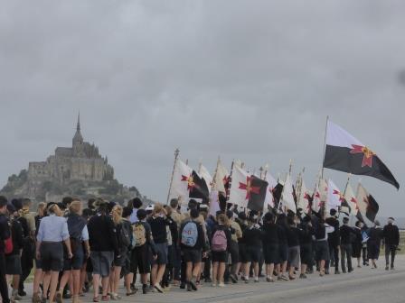 La Bretagne vient se former sous le regard de l'archange Saint Michel