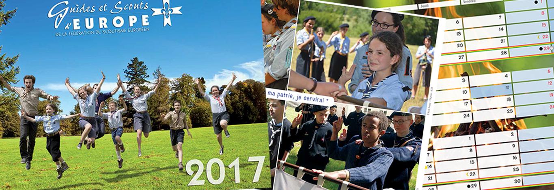 Deviens «photographe officiel» du calendrier 2018 des Guides et Scouts d'Europe !