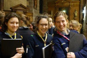 Chorale inter-scouts à Rennes