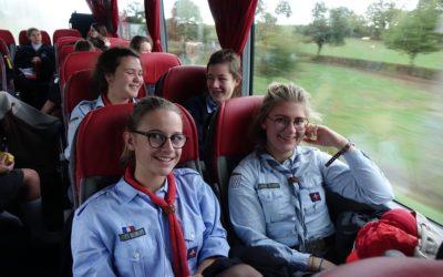 100 guides bretonnes à Paray le Monial (71)