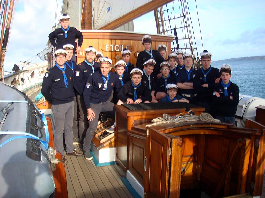 Les scouts marins de Brest