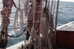 bateau et cordages