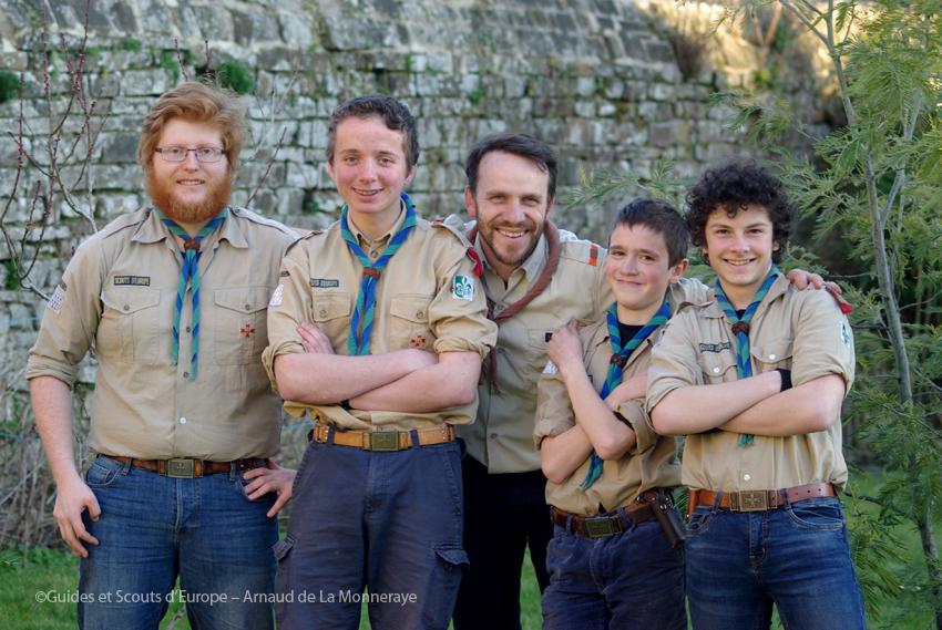 5 scouts de Vitré