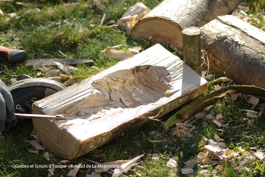 nichoir en bois